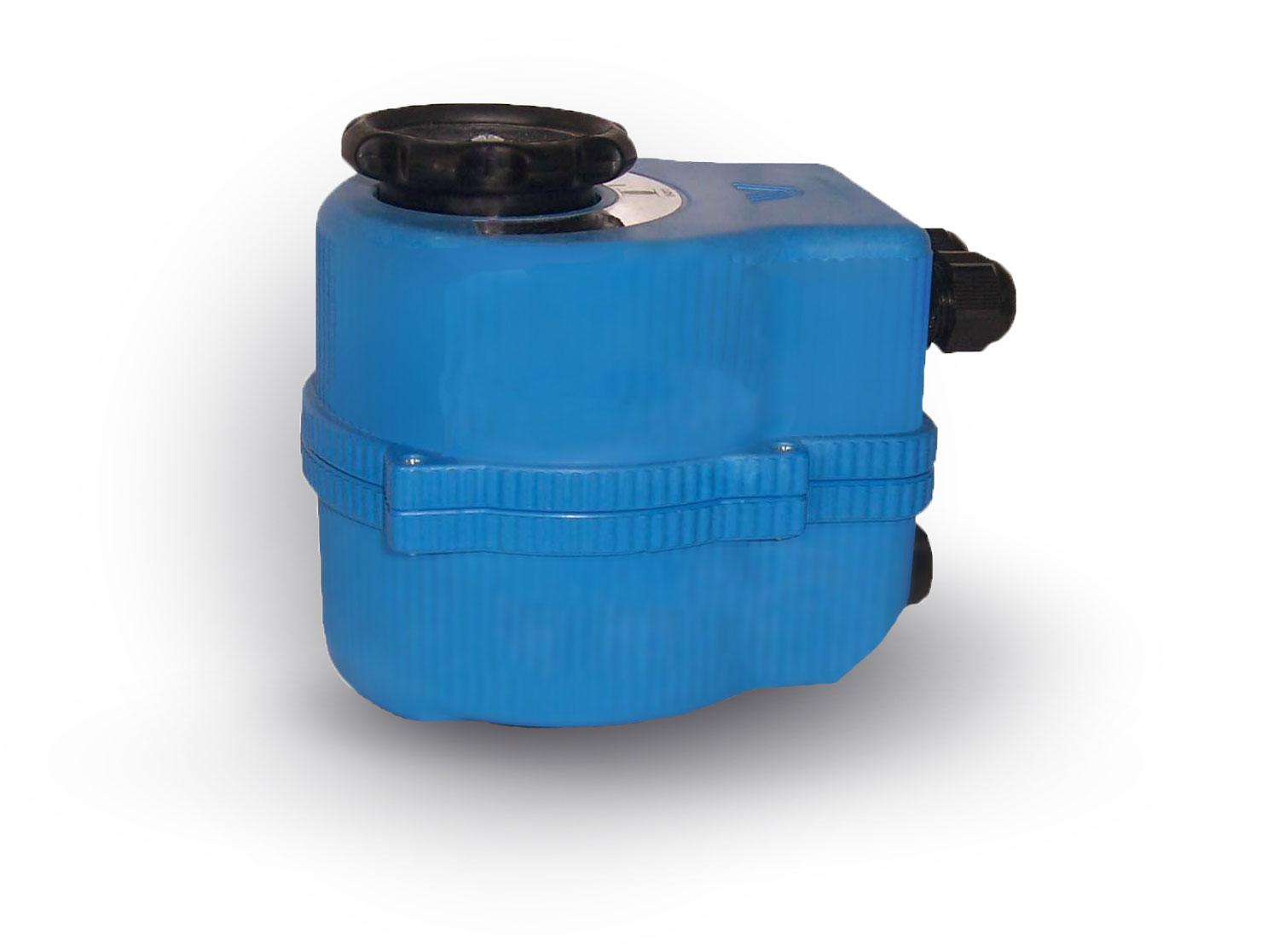 Blue shut off valve